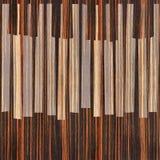 抽象音乐钢琴锁上-无缝的背景-乌木木头 免版税库存照片