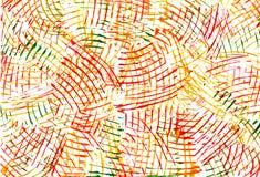 抽象颜色图画绘水 库存照片
