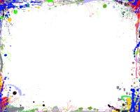 抽象颜色框架 向量例证