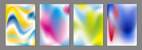 抽象颜色流程背景传染媒介例证 向量例证