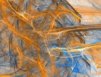抽象颜色纹理 皇族释放例证