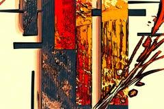 抽象颜色设计新鲜独特 皇族释放例证
