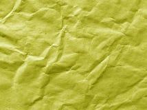 抽象颜色起皱纹的纸纹理 库存图片