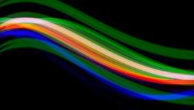 抽象颜色通知 免版税库存图片