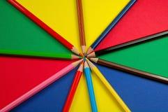 抽象颜色 免版税库存图片