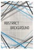 抽象飞行物小册子模板设计背景 免版税库存图片