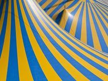 抽象马戏屋顶帐篷 免版税图库摄影
