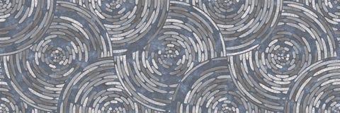 抽象马赛克建筑学陶瓷墙壁 免版税库存照片