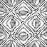抽象马赛克无缝的样式 向量背景 不尽的纹理 陶瓷砖片段 图库摄影