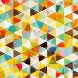 抽象马赛克模式 免版税库存图片