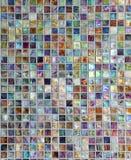 抽象马赛克珍珠表面 免版税库存图片