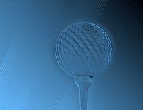 抽象高尔夫球 免版税库存图片