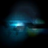 抽象高科技传染媒介设计 图库摄影