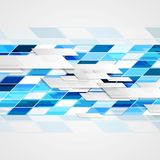 抽象高科技几何明亮的背景 免版税库存照片