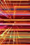 抽象高科技发光的线背景 免版税库存图片
