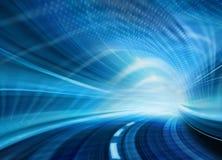 抽象高速公路行动路速度 库存例证