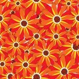 抽象高雅无缝的样式有花卉背景 皇族释放例证
