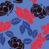 抽象高雅样式有花卉背景 库存照片