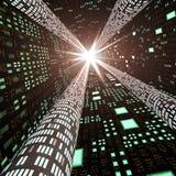 抽象高高速公路信息速度 免版税库存图片