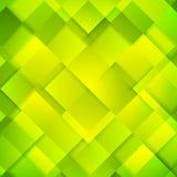 抽象鲜绿色的正方形背景 免版税库存照片