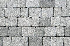 抽象鹅卵石路面纹理 库存照片