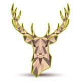 抽象鹿 库存照片