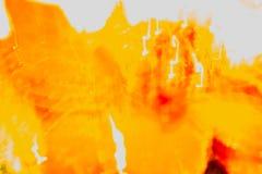 抽象黄色和颜色红色飞溅  免版税库存图片