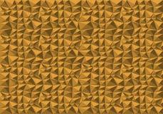 抽象黄色多角形样式背景纹理传染媒介 库存照片
