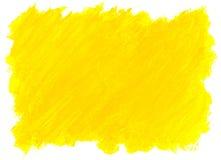 抽象黄色水彩背景。 免版税图库摄影