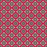 抽象黑色模式红色 免版税库存照片