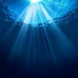 抽象水下的背景 图库摄影