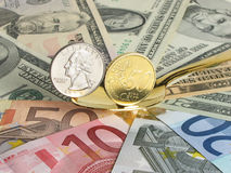 抽象财务 免版税库存图片