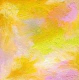 抽象织地不很细丙烯酸酯和油柔和的淡色彩绘了背景 免版税库存照片