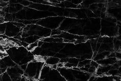 抽象黑大理石仿造了(自然样式)纹理背景 免版税库存照片