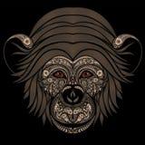 抽象猴子样式 库存照片