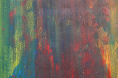 抽象水彩哄骗油漆美好的五颜六色的艺术 免版税图库摄影