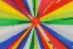 抽象派彩虹 免版税库存照片
