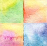 抽象水彩被绘的背景 免版税库存照片