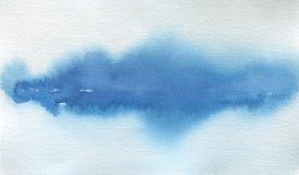 抽象水彩风景污点被绘的背景 纹理 免版税库存图片