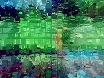 抽象 摘要 纹理 织地不很细 唯一性 抽象 深奥 纹理 库存例证