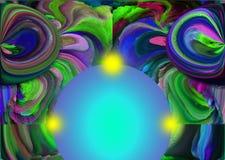 抽象 摘要 绘画 照片 纹理 织地不很细 唯一性 抽象 深奥 纹理 五颜六色 颜色 Grap 皇族释放例证