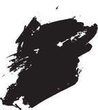 抽象绘画-数字式水彩 免版税库存图片