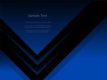 抽象黑暗的报告盖子模板设计 库存图片