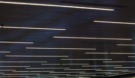 抽象黑暗的灯光管制线 免版税库存图片