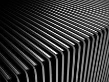 抽象黑暗的银色条纹工业背景 库存照片