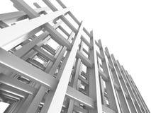 抽象结构楼房建筑背景 免版税图库摄影