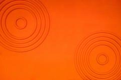 抽象水泥桔子背景 免版税库存照片
