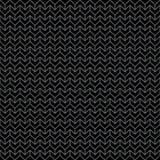 抽象黑&灰色黑暗的雪佛几何样式 免版税库存照片