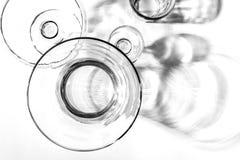 抽象玻璃器皿 免版税库存照片