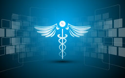 抽象医疗医疗保健药房药物设计长方形样式创新概念背景 库存照片